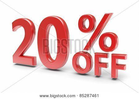 20 Percent Discount