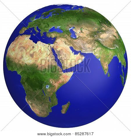 Earth Planet Globe Map