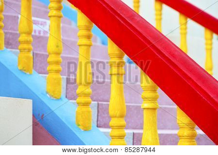 Bangkok   Thailand Incision Stairs And