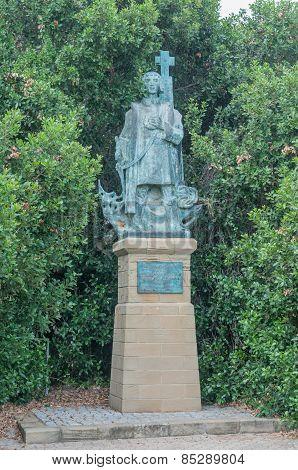 Bronze Statue Of Bartolomeu Dias