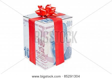 Gift  Turkish Lira