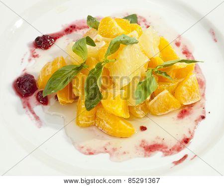 Fruit Salad Orange Grapefruit