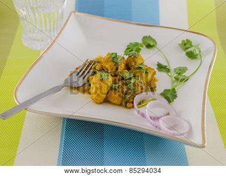 Alur Dum/Potato Curry