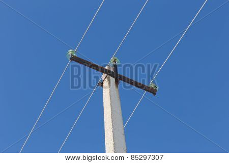 wires on power line