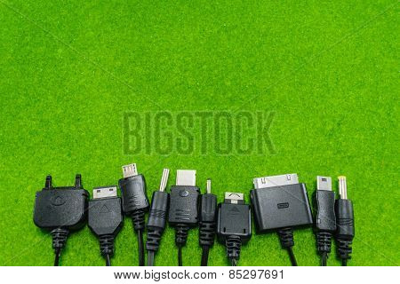 Multi-Heads Of Mobile Phone Charger (universal Charger)