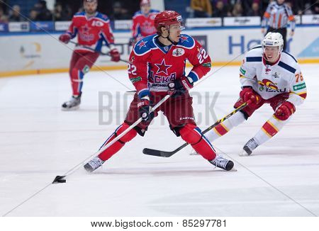 N. Zaitsev (22) And E. Sallinen (76)
