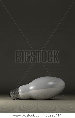 Ellipsoidal Light Bulb Lying