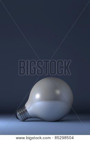 Globe Light Bulb Lying