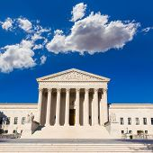 picture of supreme court  - Supreme Court of United states building in Washington DC - JPG