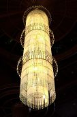 pic of chandelier  - Contemporary glass chandelier Contemporary home decor . This sense of warmth - JPG