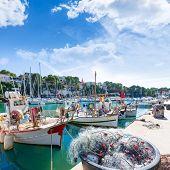 picture of marina  - Majorca Porto Cristo marina port in Manacor of Mallorca Balearic island at spain - JPG