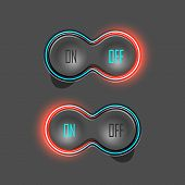 pic of toggle switch  - Button Switches with Backlight - JPG