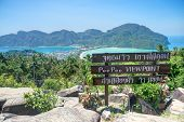 picture of phi phi  - Phi Phi Don view point  - JPG