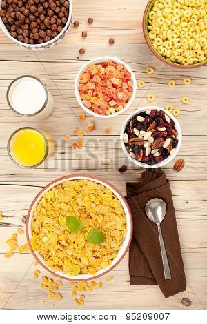 Cornflakes Breakfast