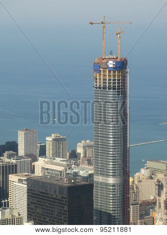 Trump Tower construction