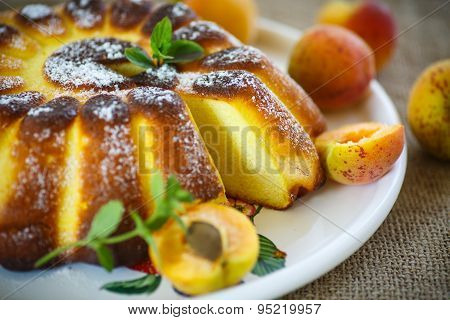 Cottage Cheese Casserole With Apricots