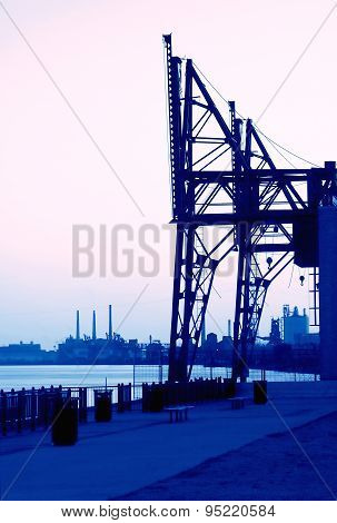Steel Plant Shipping Cranes