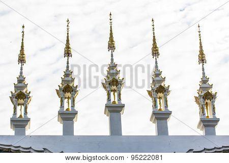 Gable Apex Thai Temple