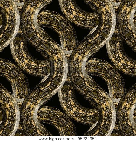 Intricate Abstract Grunge Textured Pattern