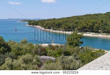 The Croatian Zdrelac strait