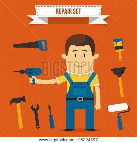 Repair set