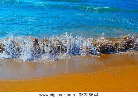 Small Waves In Porto Ferro