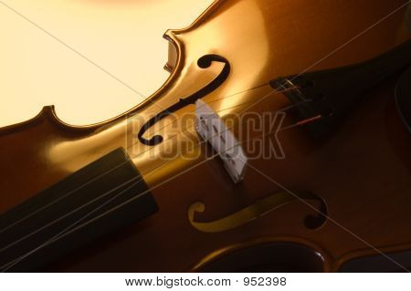 Musical Instruments: Violin Close Up (2 )