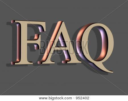 Letras 3D: Faq