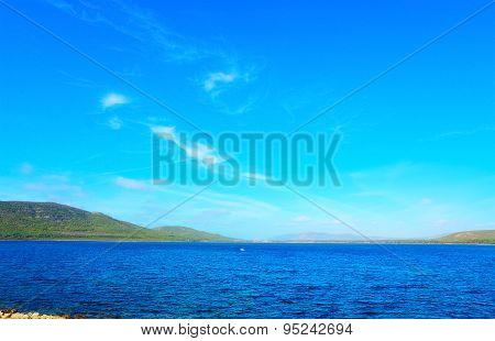 Blue Sky Over Porto Conte Coast