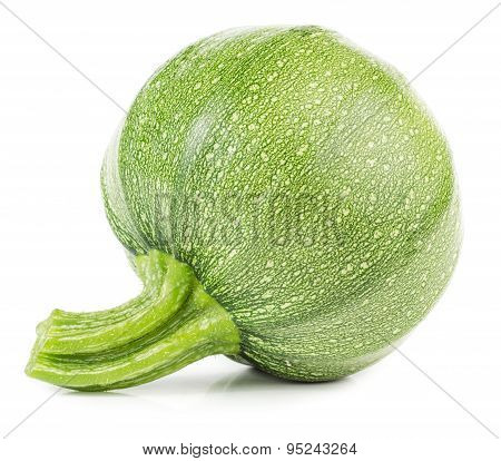 Raw Round Courgette