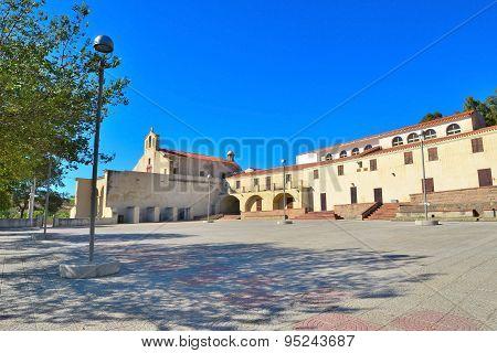 Valverde Sanctuary Square In Alghero