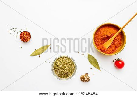 Food And Spices Herb For Cooking.
