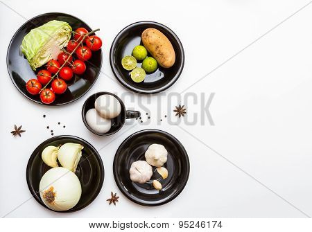Vegetables For Cooking In The Dish.
