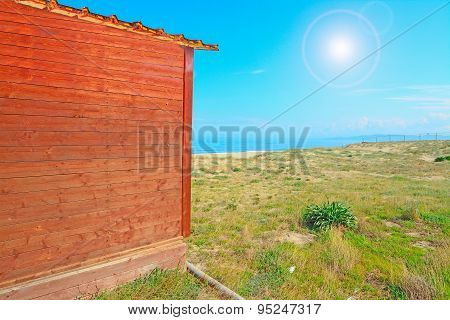 Wooden Cabin By The Shore In Platamona Beach