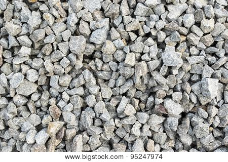Abstract background of gravel stones
