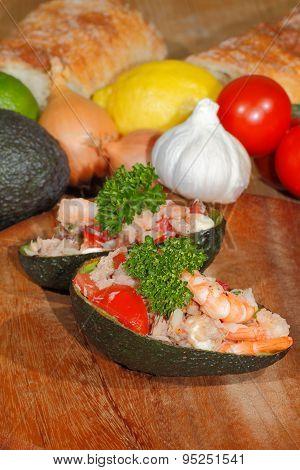 Avocado, Guacamole, Shrimp,tuna,salad, Guacamole