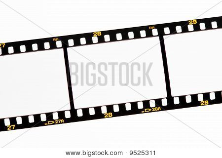 Slide Film Strips With Empty Images