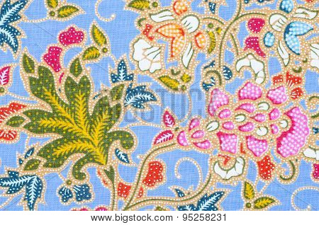Beautiful Batik Patterns That Become Traditional Clothes.