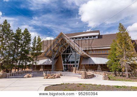 Yellowstone National Park Old Faithful Visitor Center