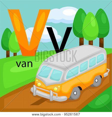 V for van