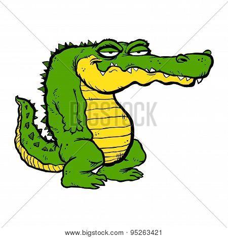 Cartoon Alligator