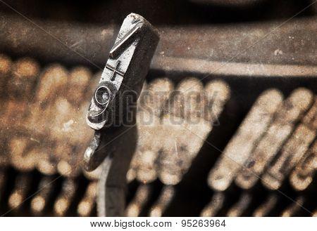 9 Hammer - Old Manual Typewriter - Warm Filter