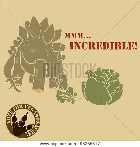 vegetarian dinosaur