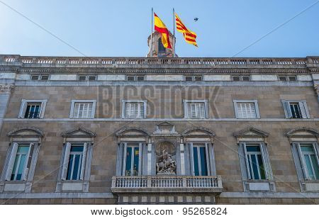 Government Of Catalonia Building In Barcelona