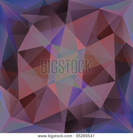 Violet Crystal Background