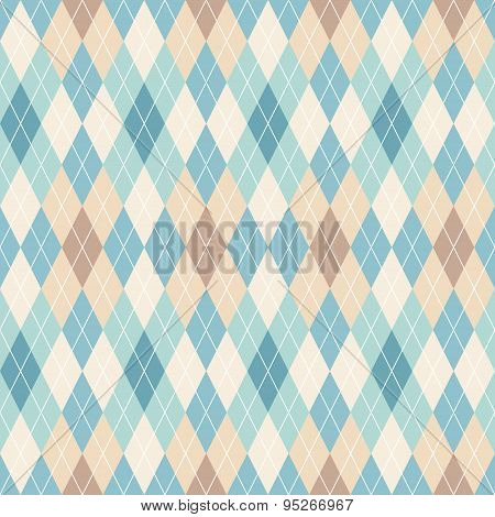 Argyle Seamless Pattern.
