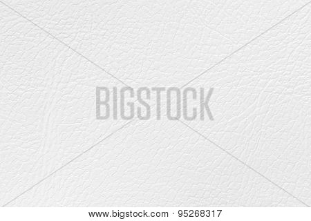 Synthetic White Leather Texture Or Background