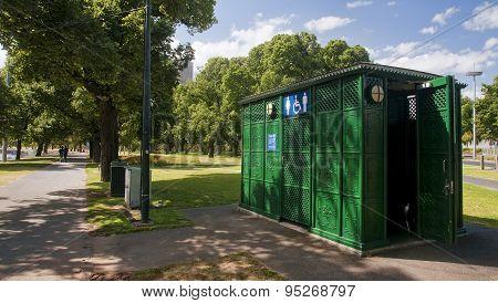 Public Toilet In Park