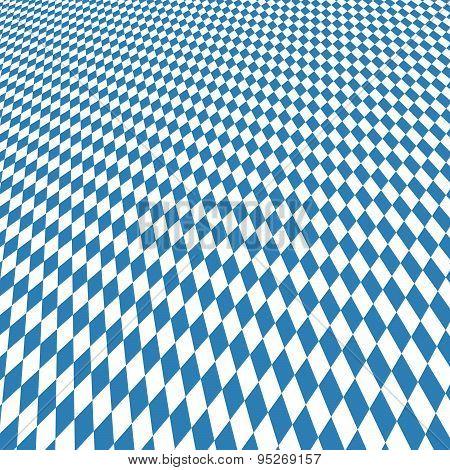 Oktoberfest Background Blue-white Checkered
