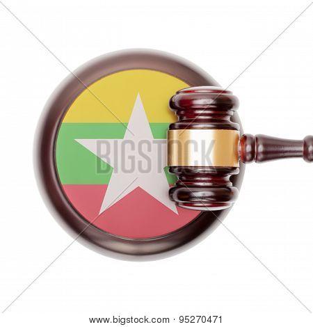 National Legal System Conceptual Series - Burma - Myanmar